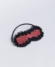 """Máscara con estampado animal print Estampado Rojo """"Rougeatre"""" Leopardo Mujer LA8G00-01"""
