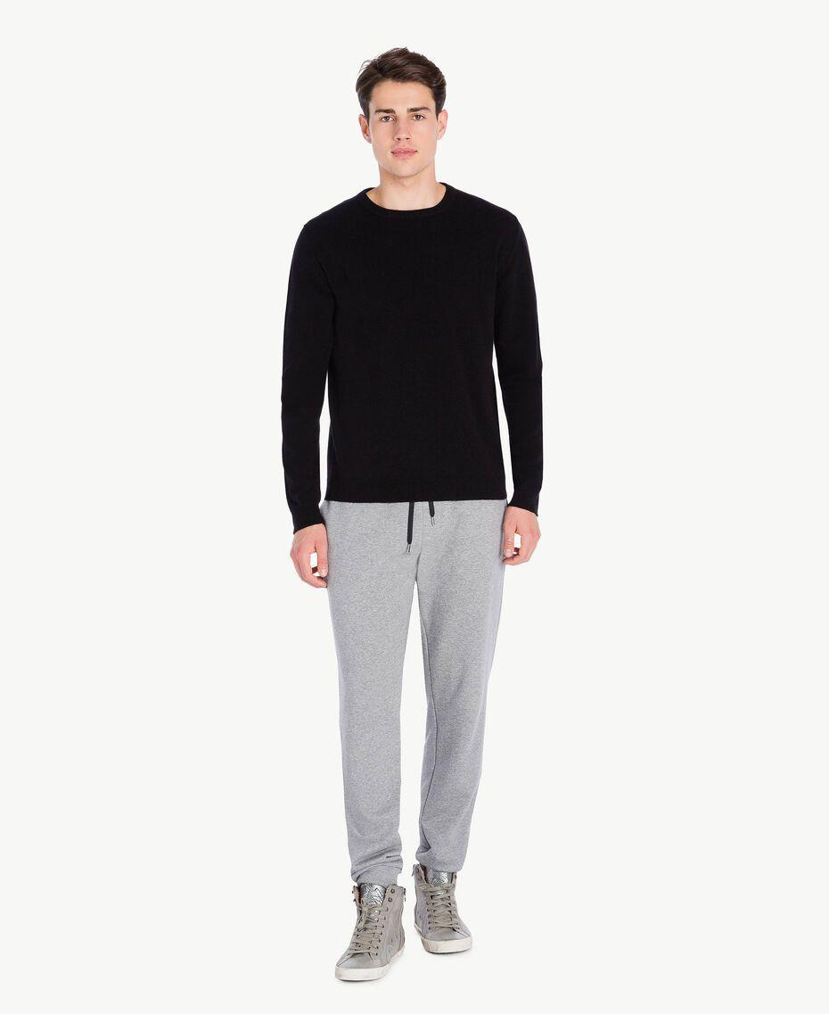 Jogging trousers Melange Grey Male UA72A3-02