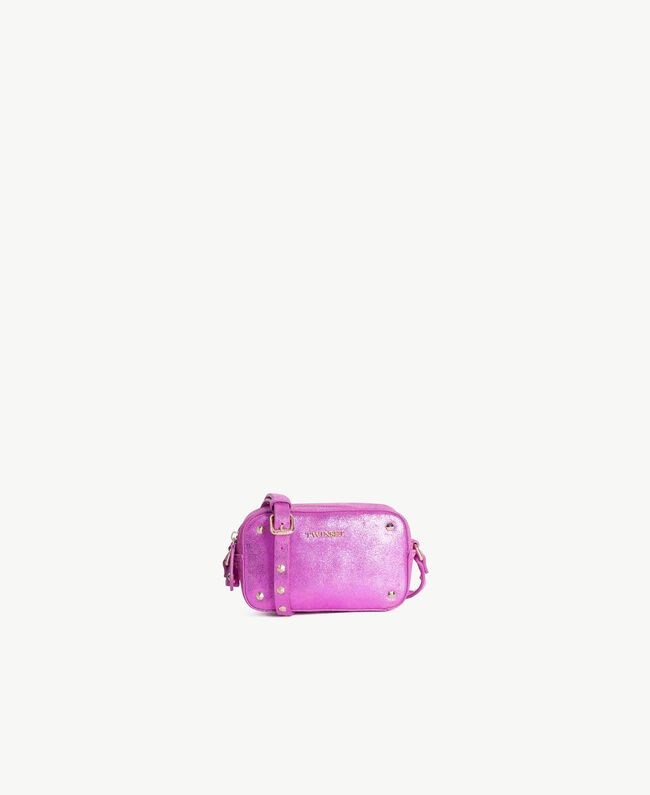 TWINSET Laminated shoulder bag Provocateur Pink Woman OS8TBN-01