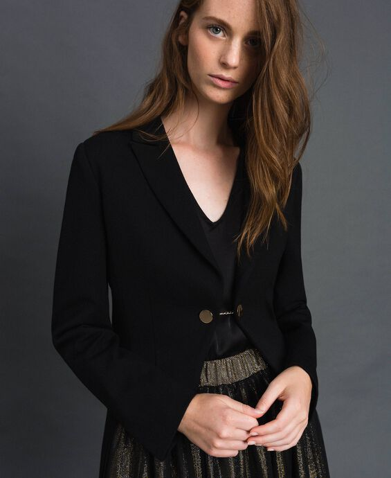 Giacca blazer asimmetrica
