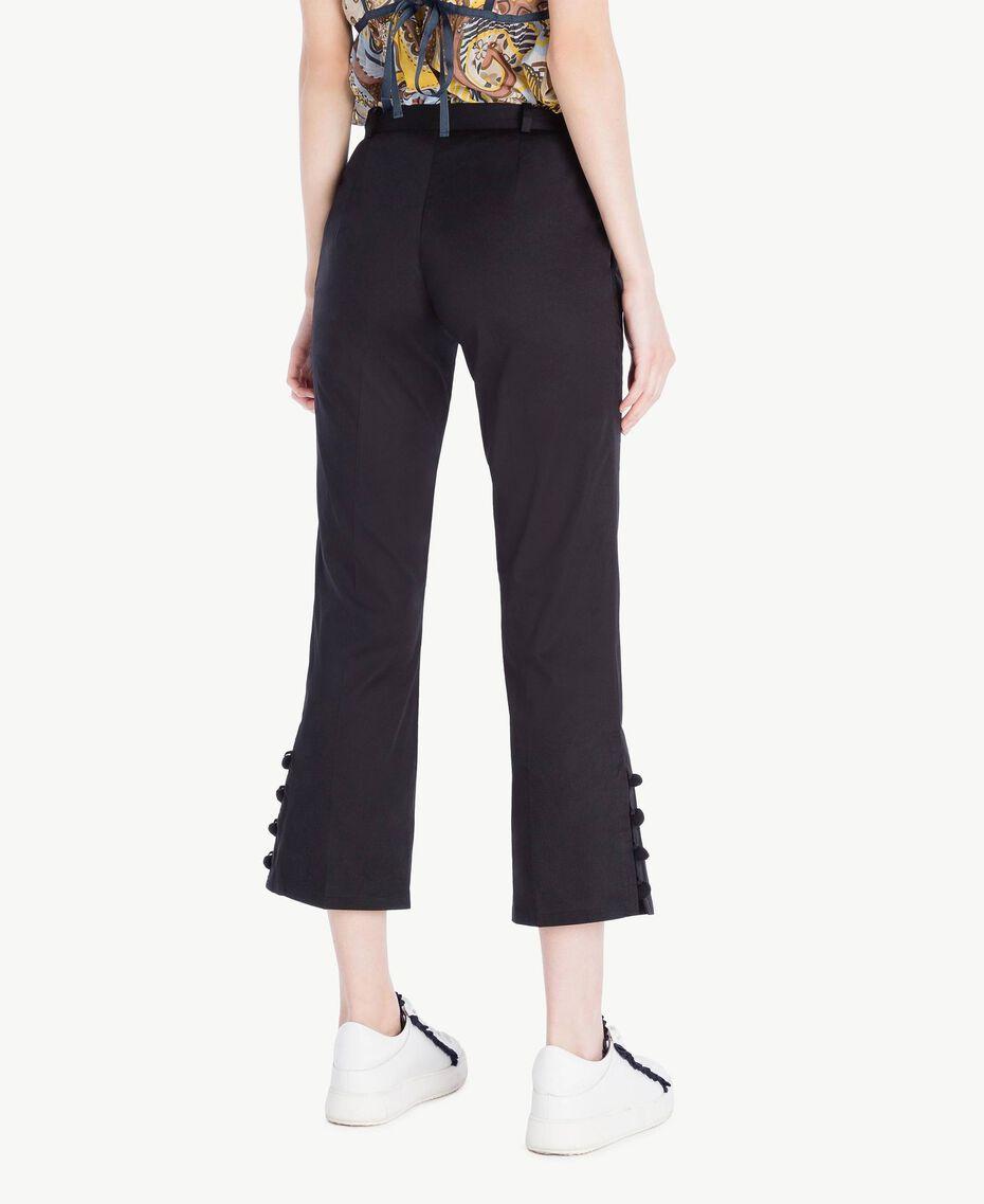 Pompom trousers Black Woman SS82JU-03