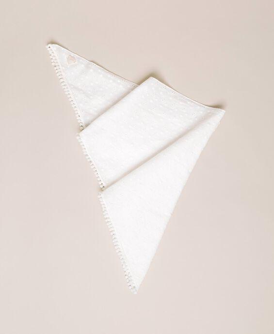 Broderie anglaise triangle sarong