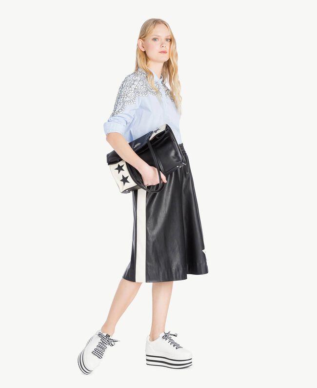 Lace shirt Topaze Sky Blue Woman JS82D2-05