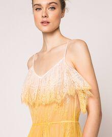 Robe longue en dentelle tie&dye Multicolore Tie Dye Rose Femme 201TT2282-05
