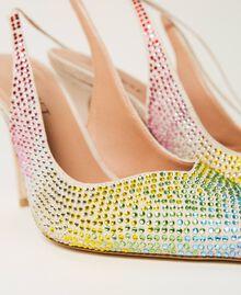 Zapatos de salón recubiertos de strass «Strass Rainbow» Mujer 211TCT092-04