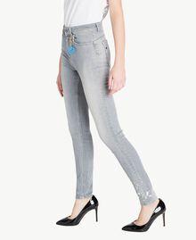Skinny jeans Grey Denim Woman JS82Y1-02