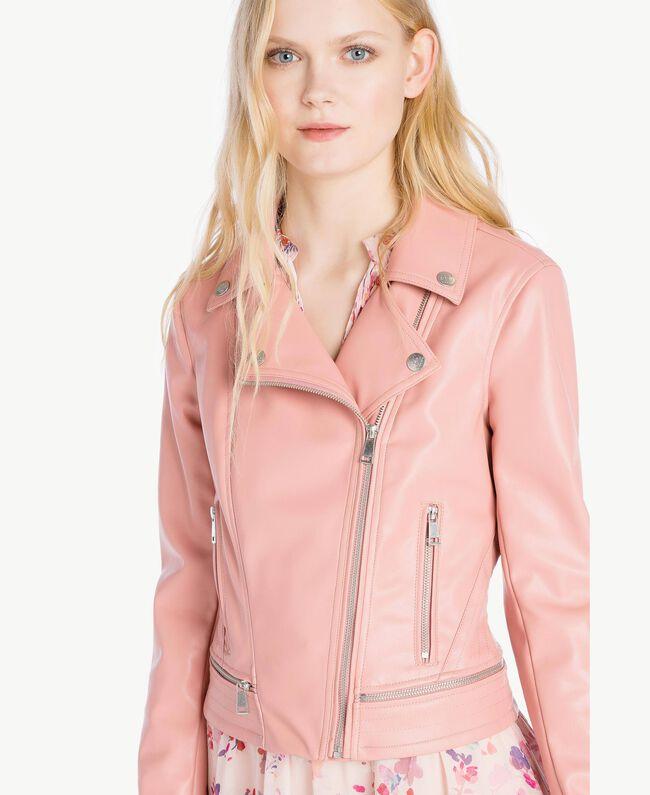 Perfecto similicuir Misty Pink Femme JS82CC-04