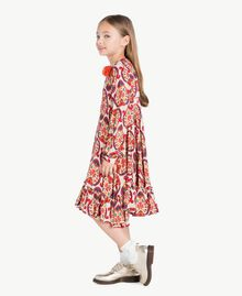 "Kleid mit Print ""Folk Cream""-Print GA7243-02"