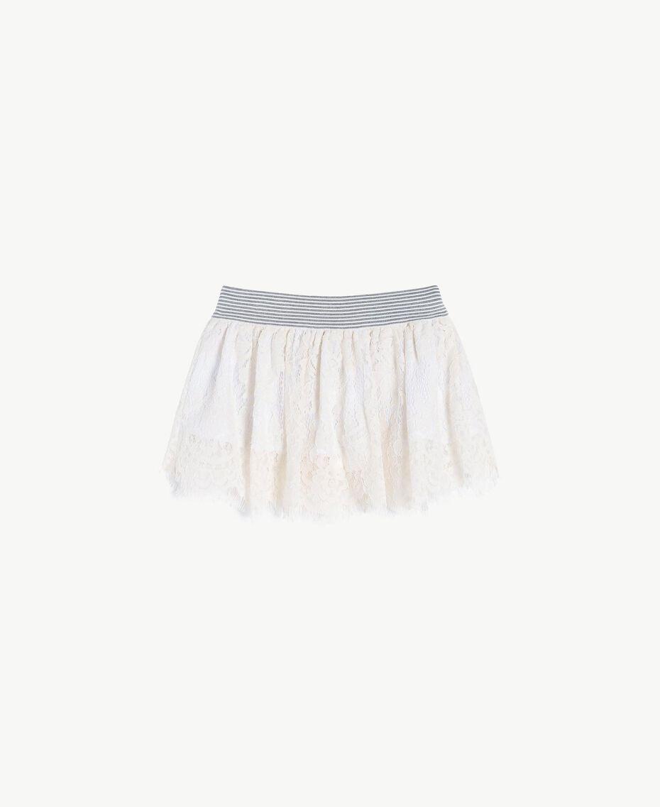 Lace skirt Pale Cream Child FS82UN-02