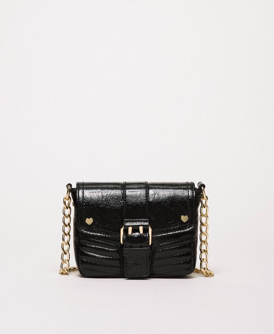 Small Rebel leather shoulder bag