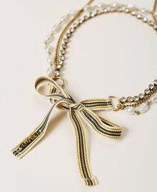 """Ожерелье в несколько нитей с бахромой Золотой """"Состаренная медная латунь"""" женщина 211TO501D-02"""