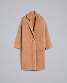 Bouclé coat Butter Woman SA83CA-0S