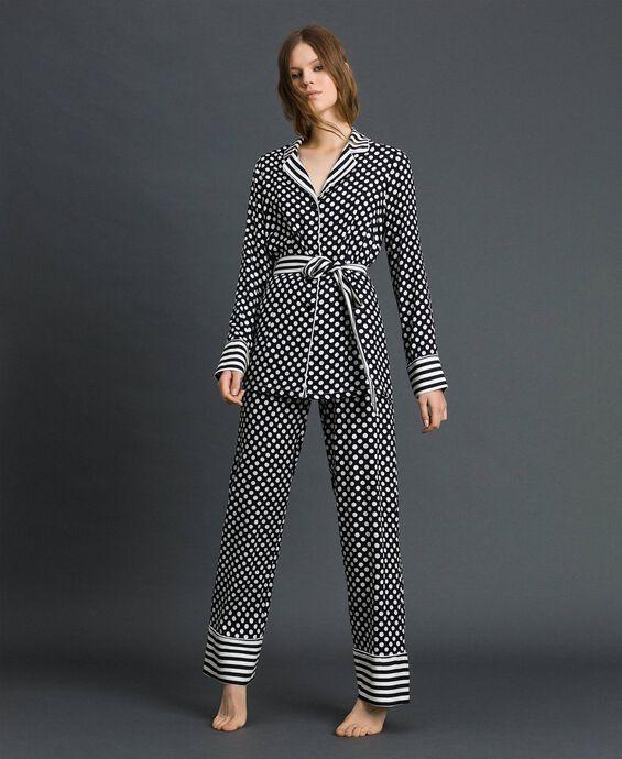 'Tury x Twinset' polka dot pyjamas