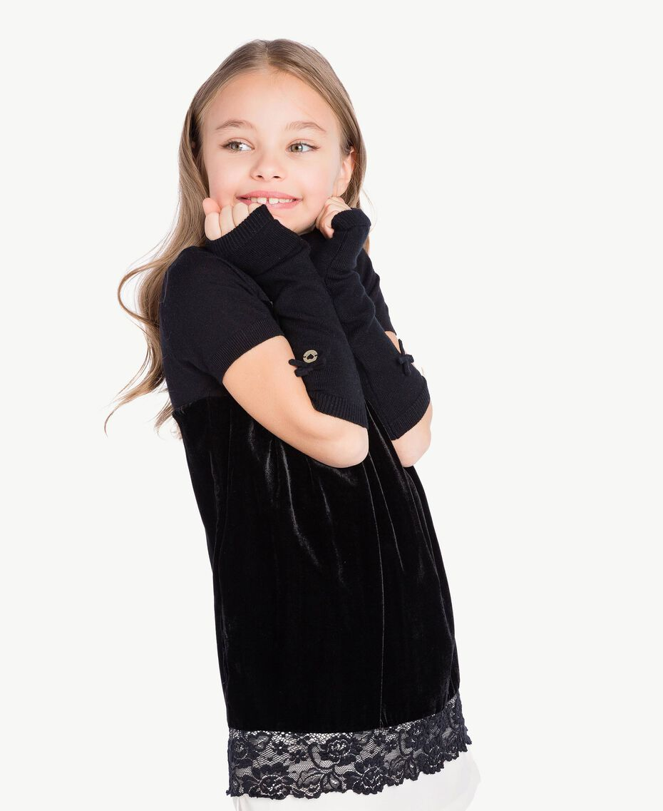 Bow sleeves Black GA7GAB-02