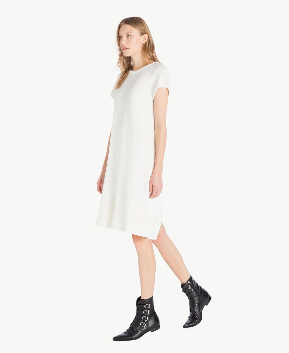 Lace dress Light Ivory Woman PS8371-02
