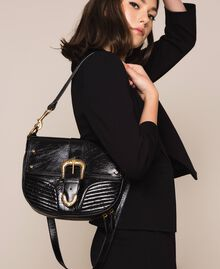 Grand sac à bandoulière Rebel Noir Femme 201TA723J-0S
