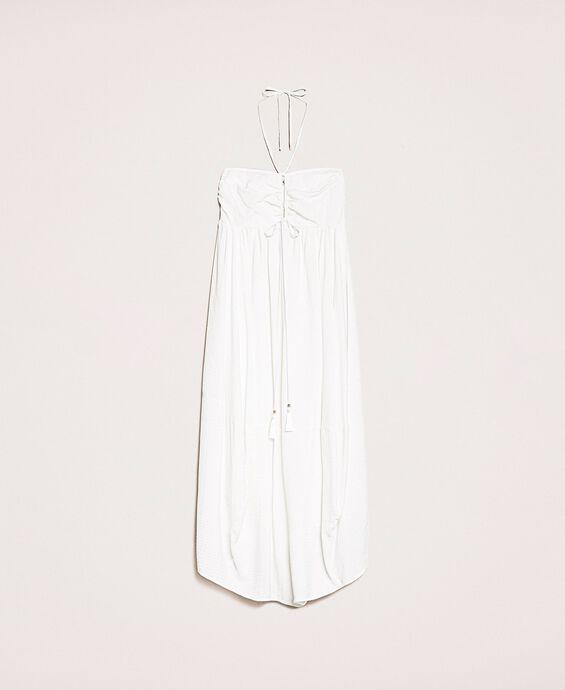 Wide, embossed dress