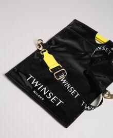 Маленькая складная сумка-шоппер из искусственной кожи Пыльный Розовый женщина 192TA7174-03