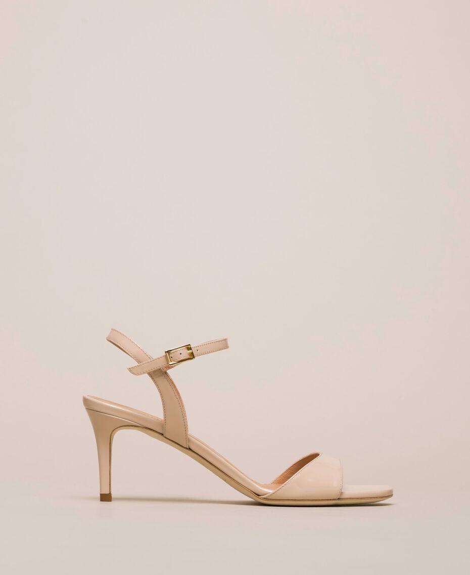 Sandali alti in pelle Rosa Bocciolo Donna 999TCT012-01