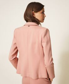"""Double breasted two-button blazer """"Vintage"""" Pink Woman 202ST2020-03"""