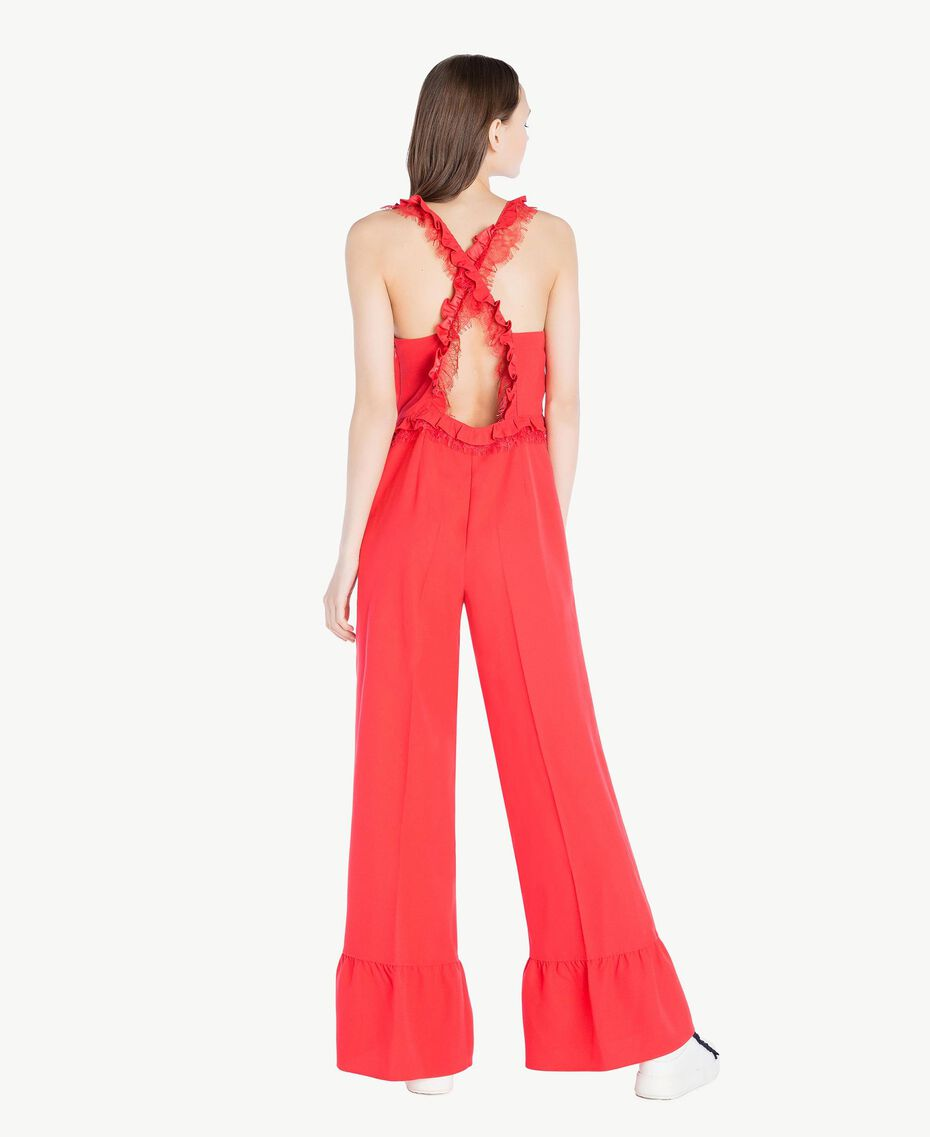 Cady jumpsuit Ginger Red Woman SS82AD-03