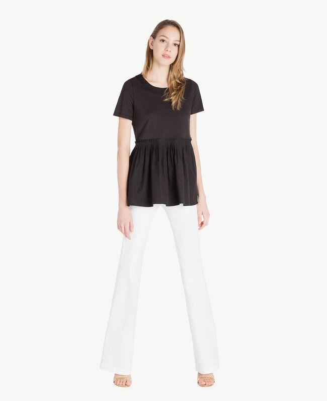 T-shirt jersey Noir Femme TS821J-05