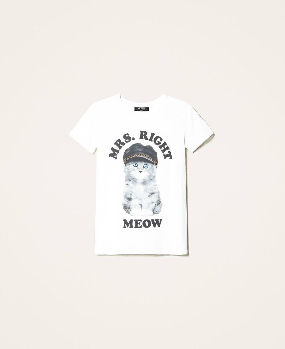 T-shirt imprimé Off White Femme 202MT2306-0S