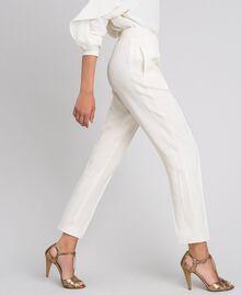 Pantalon en cady Blanc Neige Femme 192TT2292-03