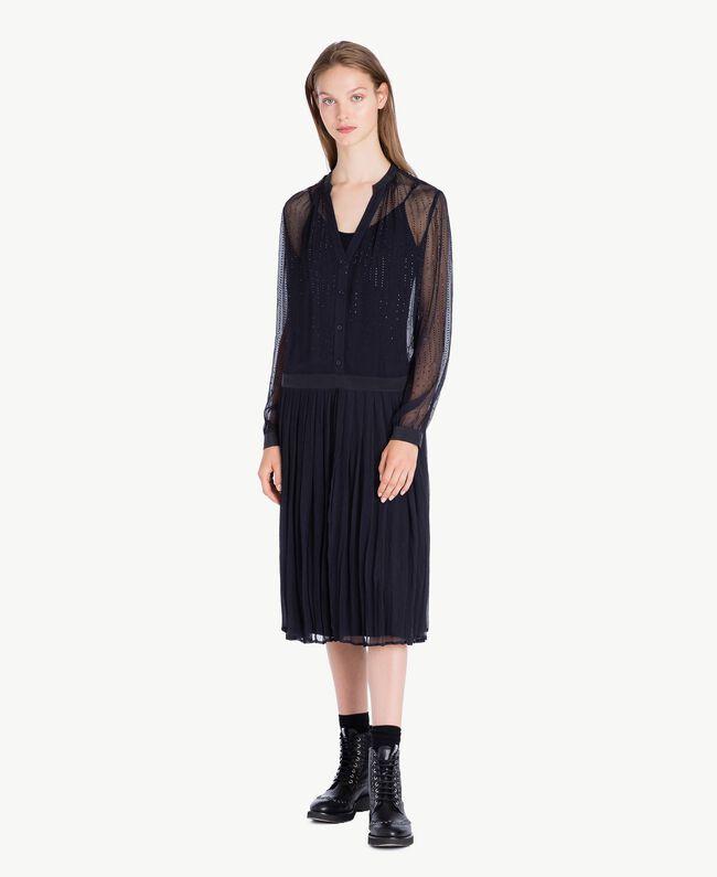 Rhinestone dress Bluestone JA72F2-01