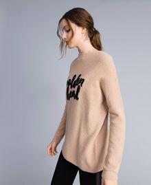 Pull oversize en laine mélangée RoseDunes Femme IA86HH-02