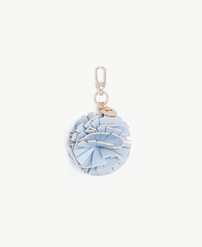 Pompom keychain Baby Blue Woman RS8TD1-01