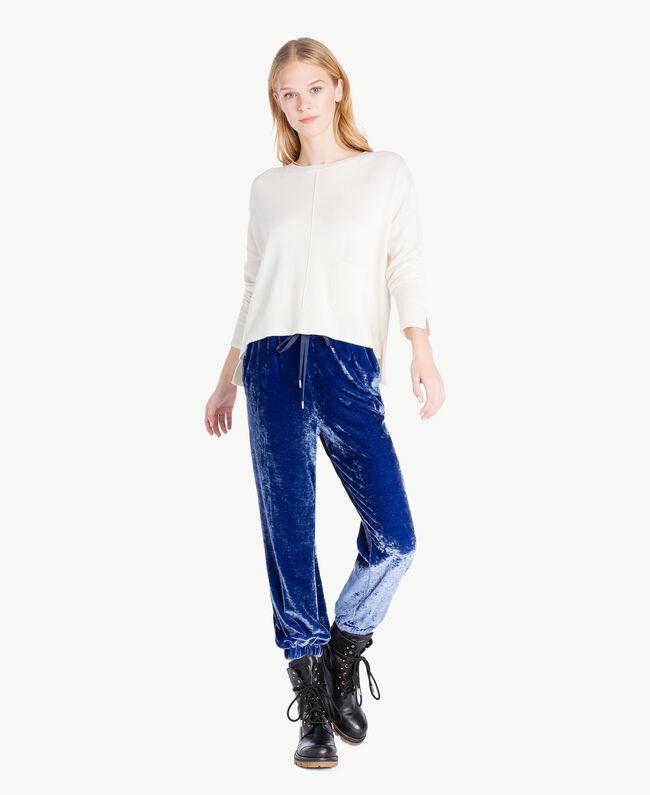 Pantalon velours Bleu Bleuprint TA721J-01