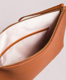 Pochette en cuir ornée de clous Cuir Femme 191TO8263-05