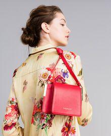 Sac à bandoulière en cuir Rouge Coquelicot Femme AA8PGB-0S