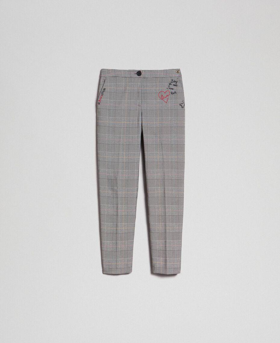 Pantaloni a sigaretta in principe di Galles Principe Di Galles Donna 192MP2285-0S