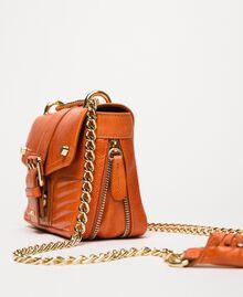 "Small Rebel leather shoulder bag ""Jasper"" Red Woman 999TA7237-03"