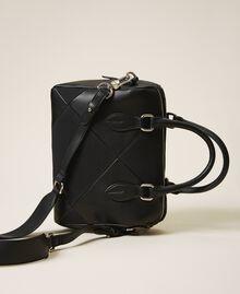 Bauletto-Tasche aus Lederimitat Kirsch Rot Frau 202MA7022-04