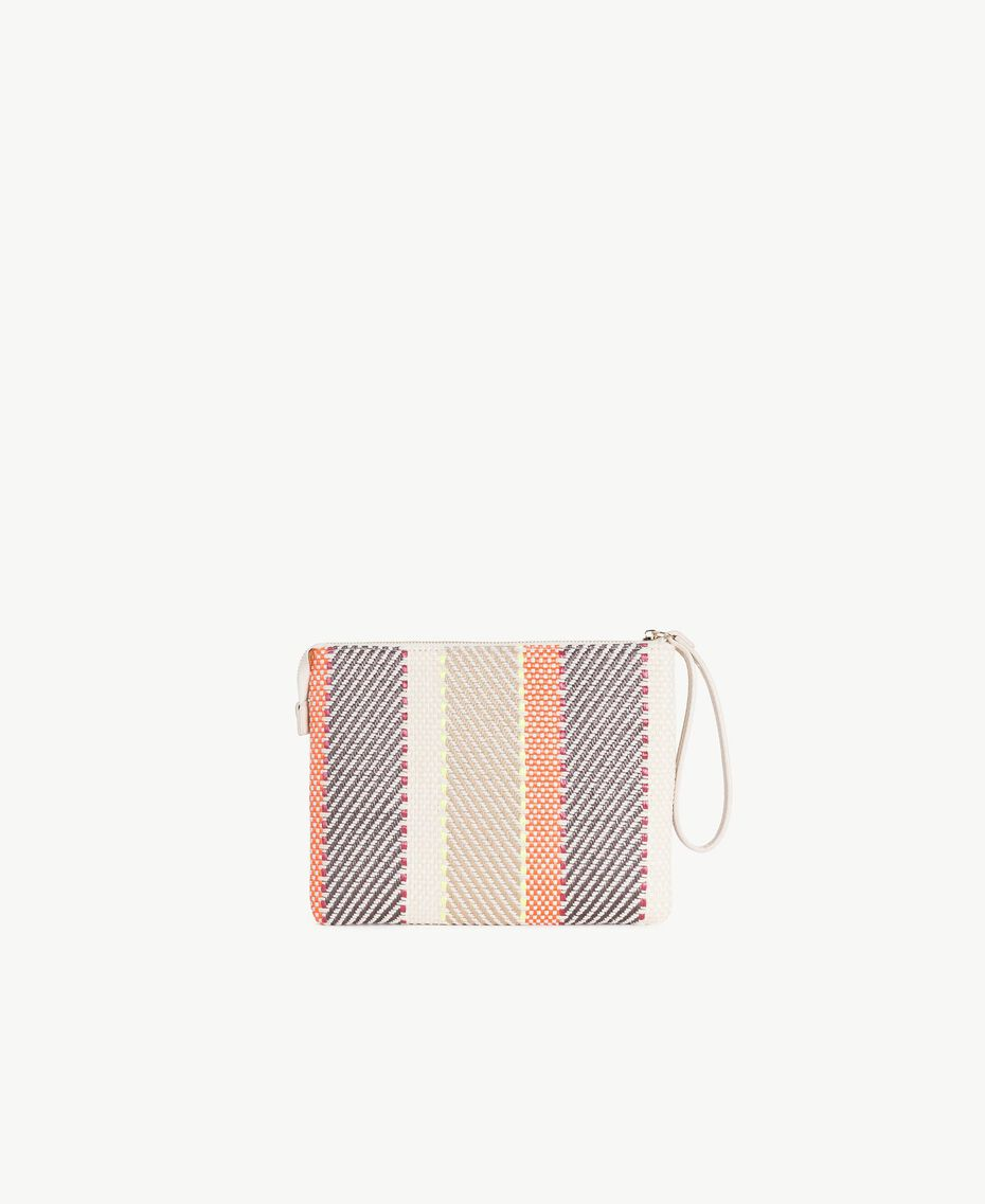 TWINSET Pochette multicolore Multicolore Crème / Café Crème / Orange Femme RS8TFE-03