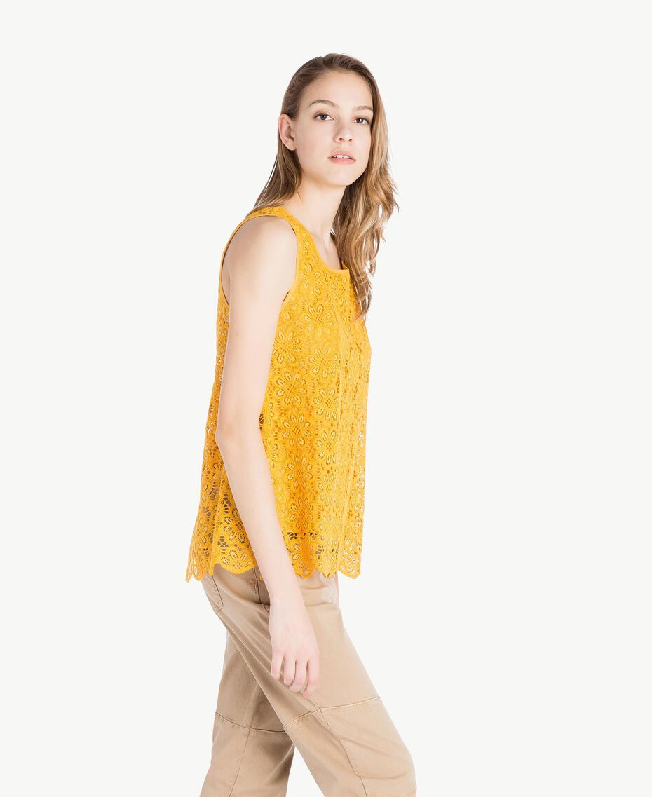 Lace top Mineral Yellow Woman SS82LB-02