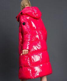 Steppmantel in Lackoptik Pink Gloss Frau 192MT2071-05