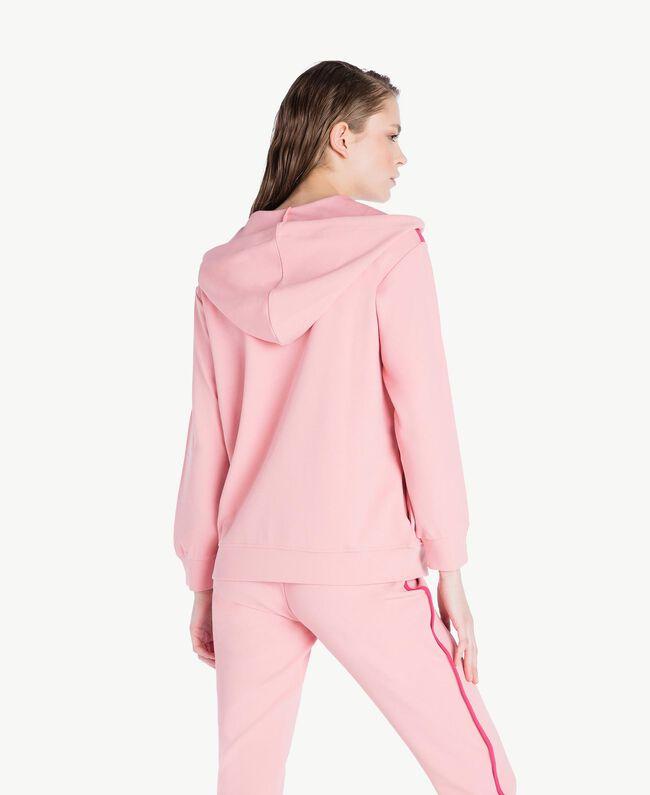 Sweatshirt aus Scuba Pinkie Sugar Frau LS82BB-04