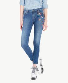 Skinny jeans Denim Blue Woman JS82WD-01