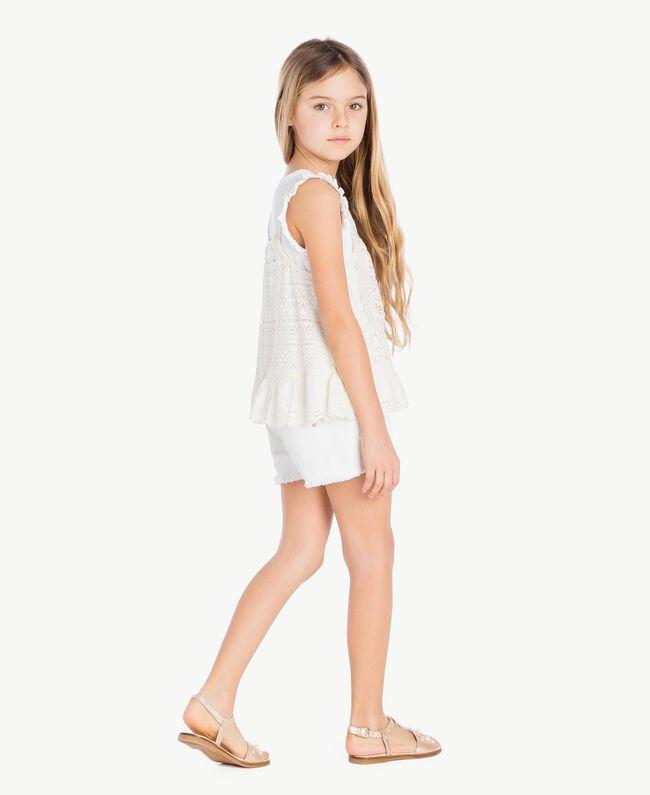 Pearl sandals Platinum Child HS88EQ-05