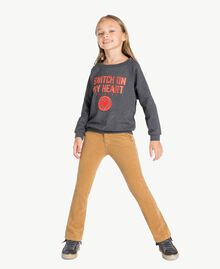 "Bell-Bottom-Jeans ""Torroncino""-Braun GA72RN-02"