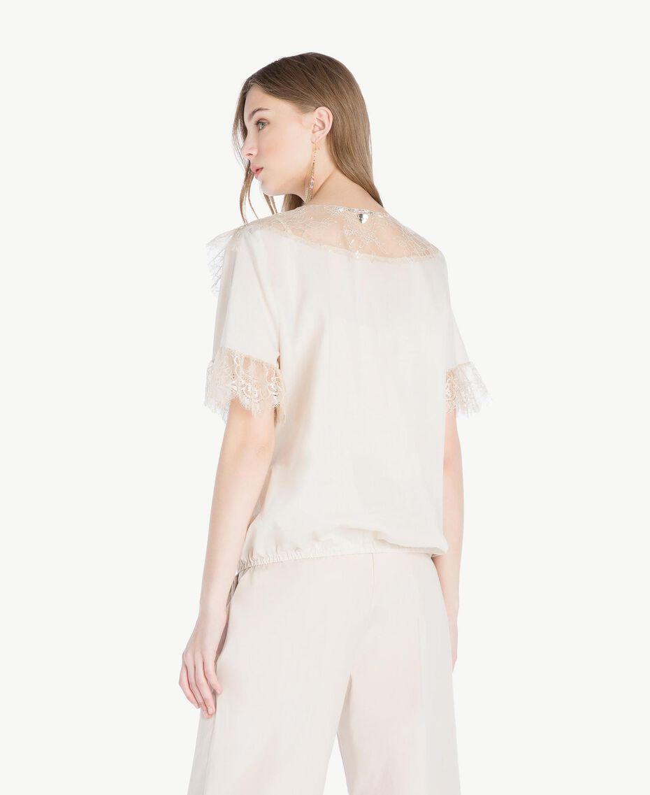 "Lace blouse ""Calla"" White Woman TS82HB-03"