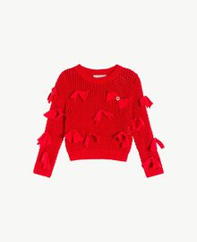 Bow top Pomegranate Red Child FS83BA-01