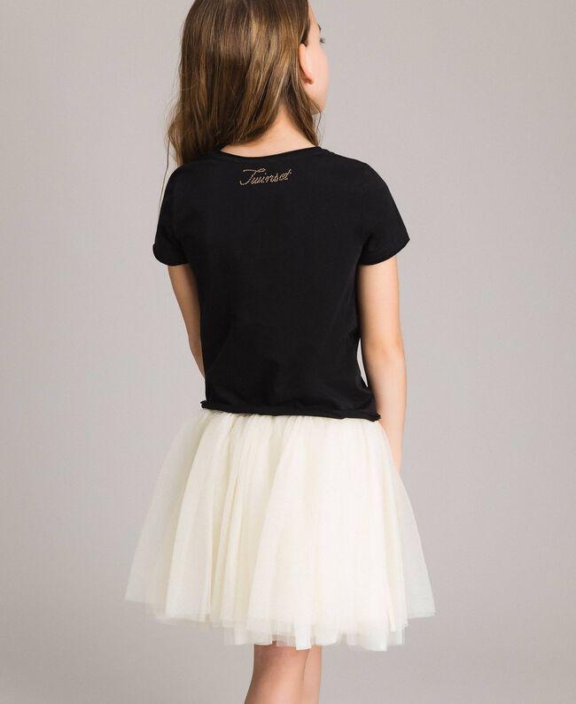 Tulle skirt Pale Cream Child 191GJ2700-03