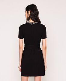 Dress with studs Black Woman 201MP2211-03