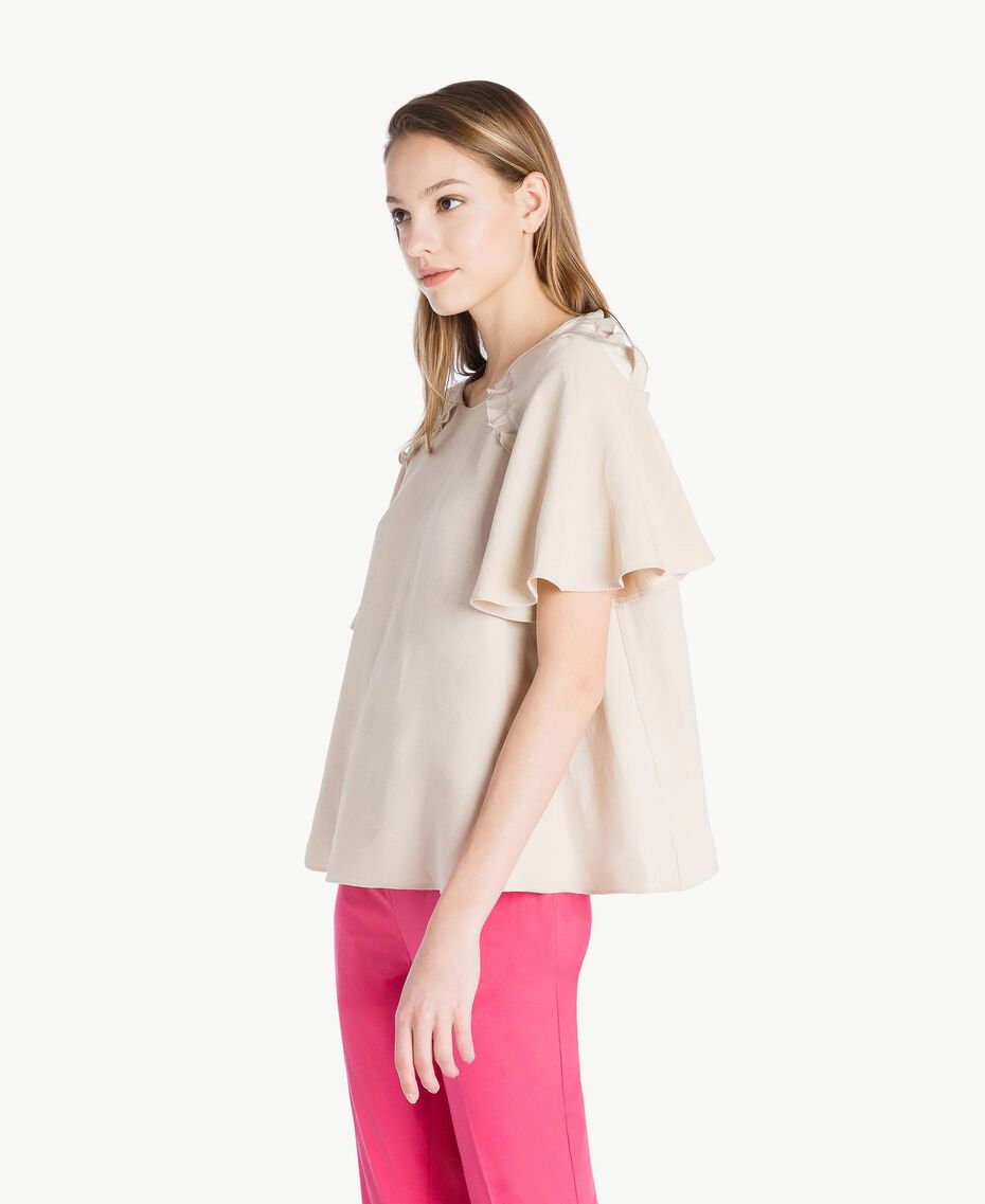 Envers satin blouse Dune Woman TS823E-02