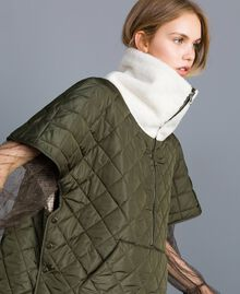 Quilted reversible padded jacket Forest Green Woman TA82B1-04
